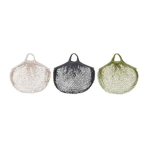 Set 3 sacoșe din plasă Esschert Design