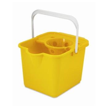 Găleată pentru mop Addis Pail & Wringer, galben imagine