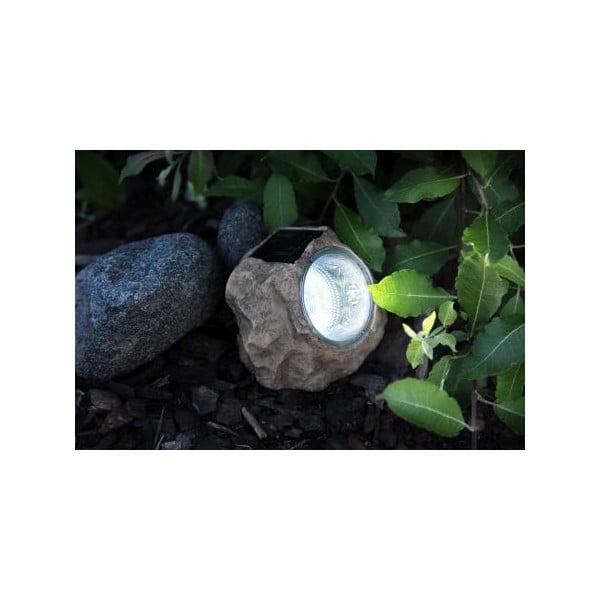 Venkovní solárnní LED světlo Best Season Stone