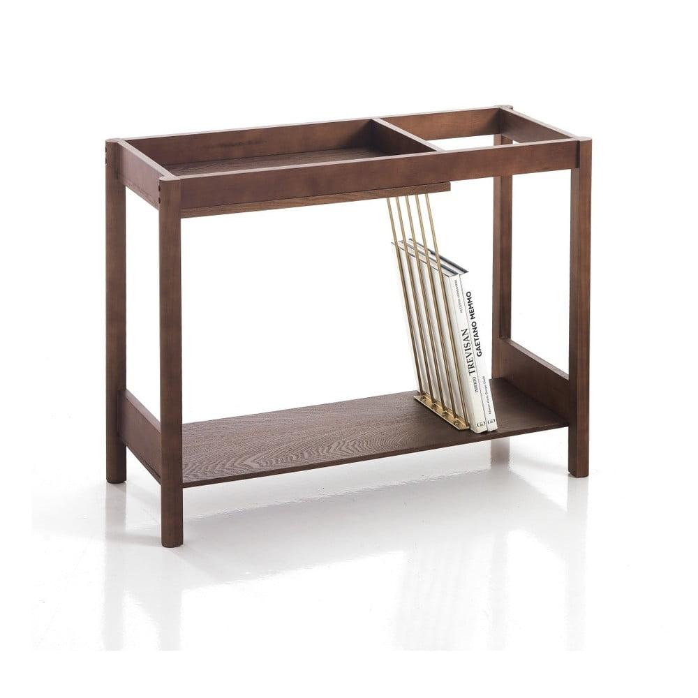 Dřevěný konzolový stolek Tomasucci Billa, 75 x 30 x 60 cm