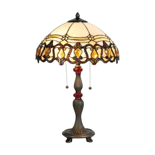 Tiffany stolní lampa Kap