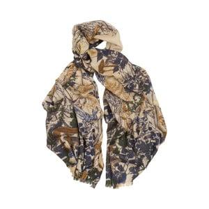 Kašmírový šátek Hogarth Woodland, 180x70cm