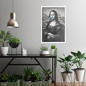 Obraz na plátně OrangeWallz Mona Lisa, 60 x 90 cm