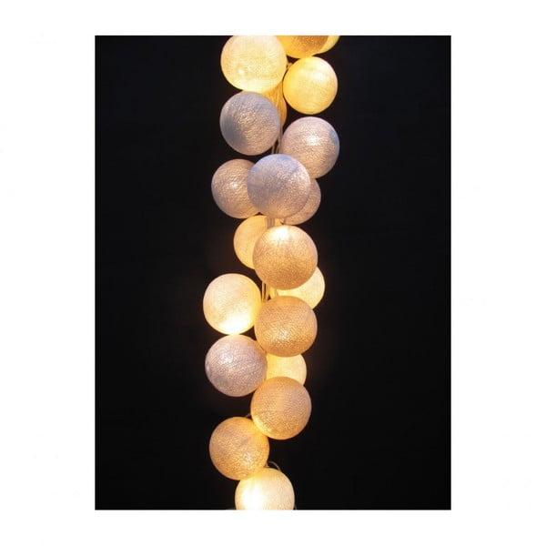 Světelný řetěz Glow, 50 ks světýlek