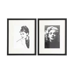 Sada dvou obrazů Ixia Icones, 48x38cm