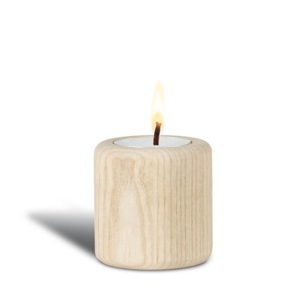 Jasanový svícen Baldur, 6 cm