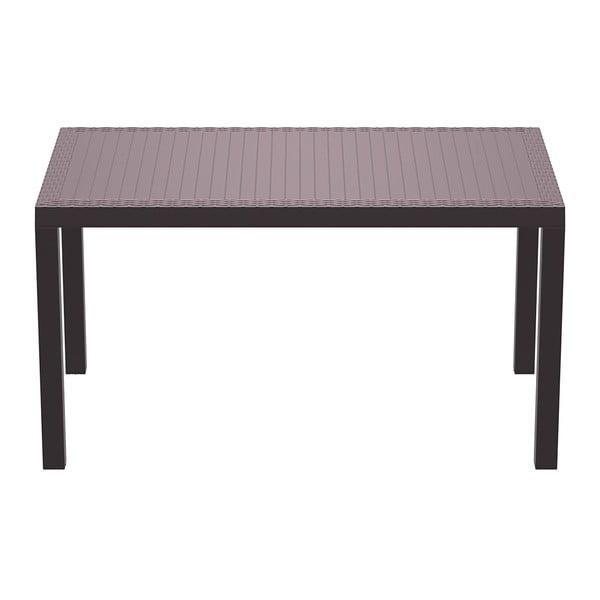 Stůl Orlando 140, hnědý