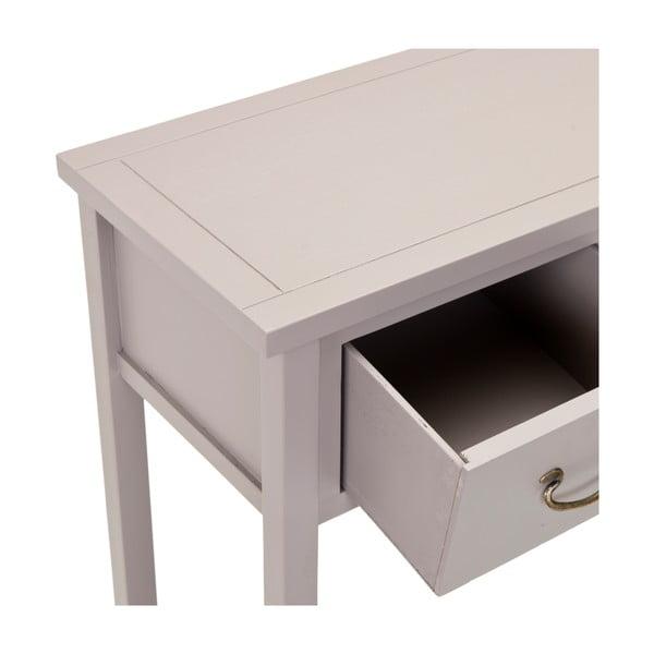 Světle šedý konzolový stolek Safavieh Riley