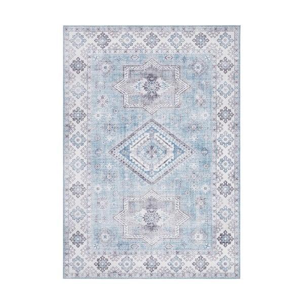 Jasnoniebieski dywan Nouristan Gratia, 120x160 cm