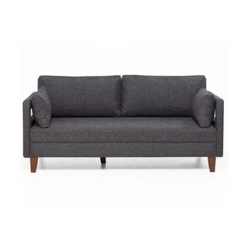 Canapea cu 2 locuri Balcab Home Lily, gri imagine