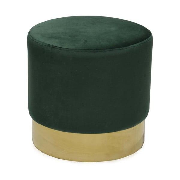 Taburet RGE Bling, verde închis