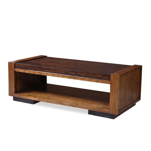 Konferenční stolek z palisandru Indigodecor, 120x60 cm