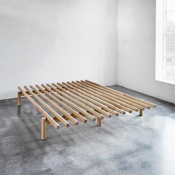 Rám postele z borovicového dřeva Karup Pace,140 x 200 cm