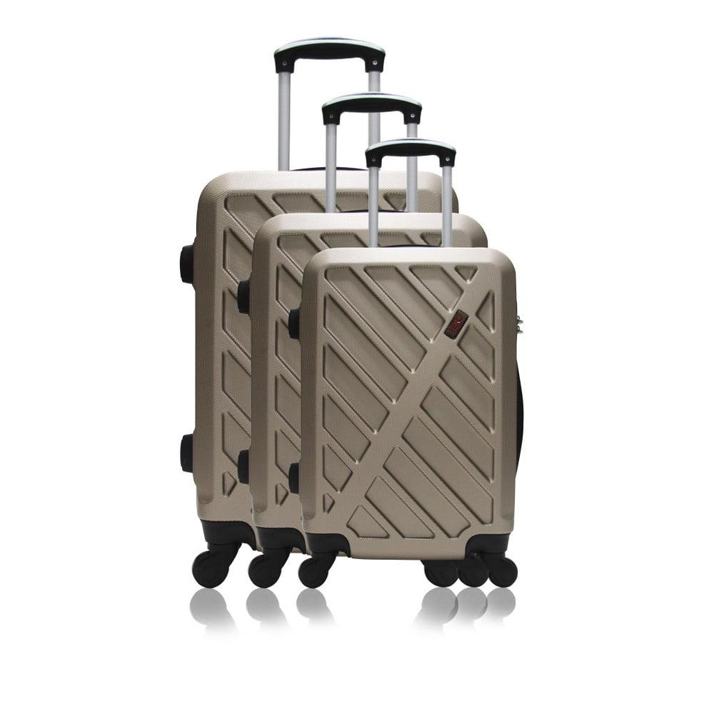 Sada 3 cestovních kufrů na kolečkách Hero Roma