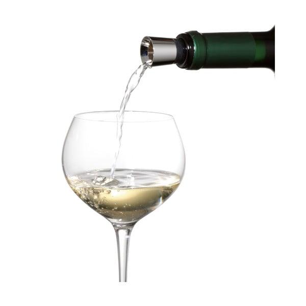 Nierdzewny lejek do wina z zatyczką WMF Cromargan® Wine
