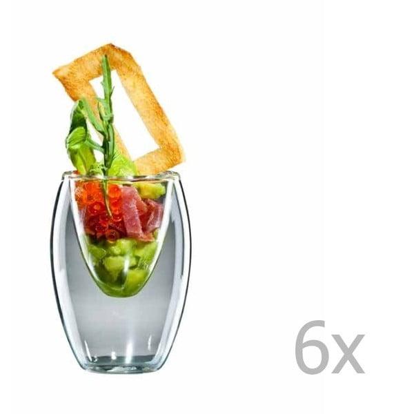 Sada 6 malých skleniček bloomix Ovo