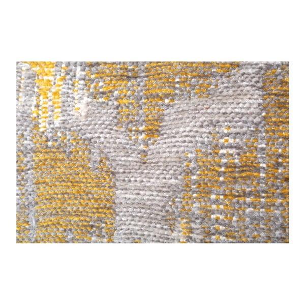Covor reversibil Homemania Halimod, 120 x 180 cm, gri-galben