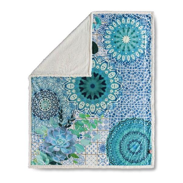 Pătură HIP Sinsin Blue, 130 x 160 cm