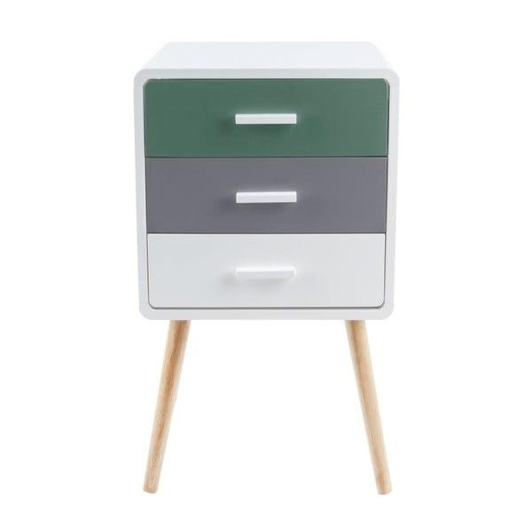 Neat Tropic 3 fiókos tárolóasztal - Leitmotiv
