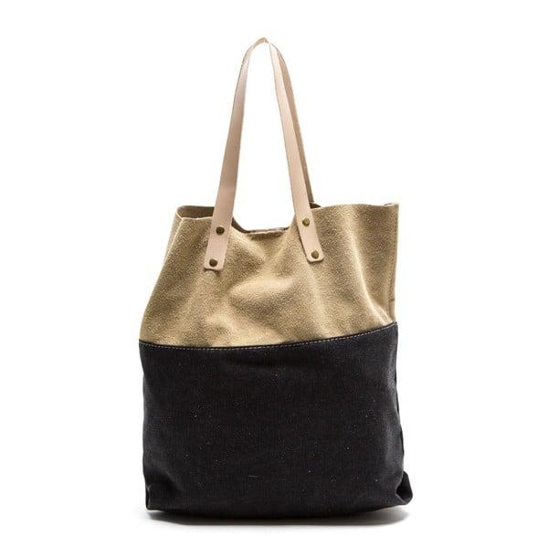 Kožená nákupní taška Isabella Rhea 8020 Nero
