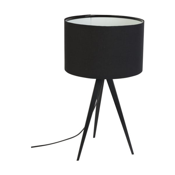 Tripod fekete asztali lámpa - Zuiver