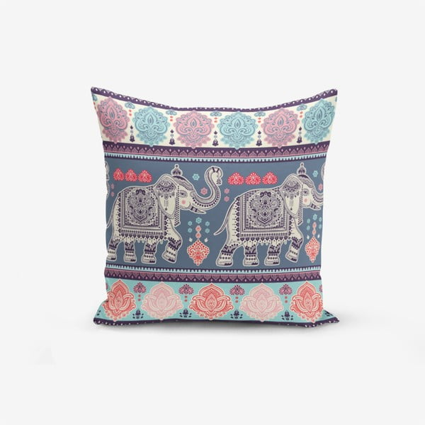 Față de pernă Minimalist Cushion Covers Elephant, 45 x 45 cm