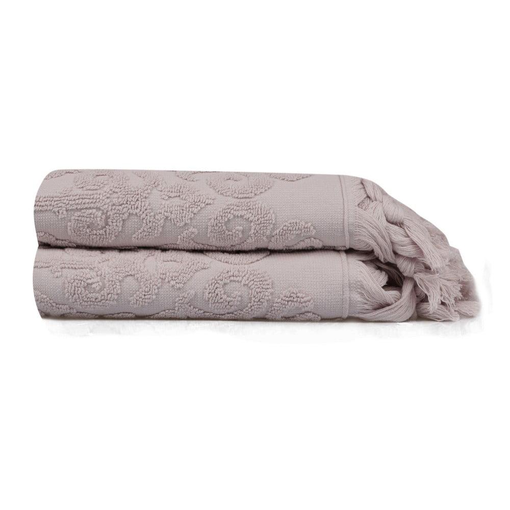 Sada 2 ručníků Madame Coco Theresa, 50 x 90 cm Saheser