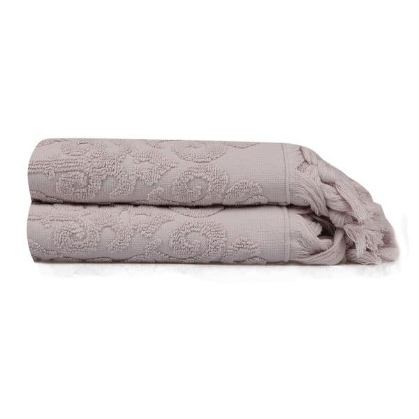 Zestaw 2 ręczników Madame Coco Theresa, 50x90 cm