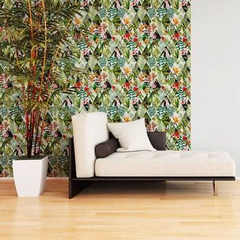 Autocolant decorativ pentru perete Ambiance Jungle, 40x40cm de la Ambiance