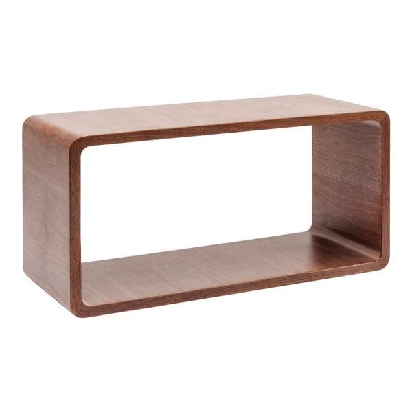 Konferenční stolek z ořechového dřeva Kare Design Cube