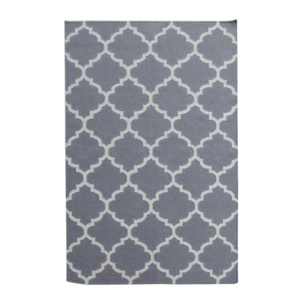 Šedý vlněný koberec Bakero Elizabeth, 240x155cm