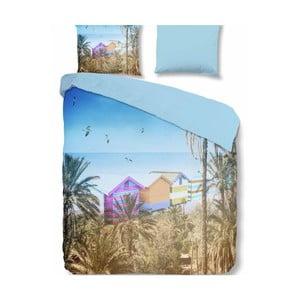 Povlečení na dvoulůžko z mikroperkálu Muller Textiels Summer, 240 x 200 cm