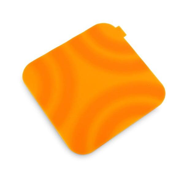Suport din silicon pentru oală fierbinte Vialli Design, portocaliu