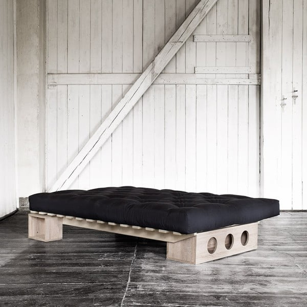 Saltea Karup Comfort Black, 140x200 cm