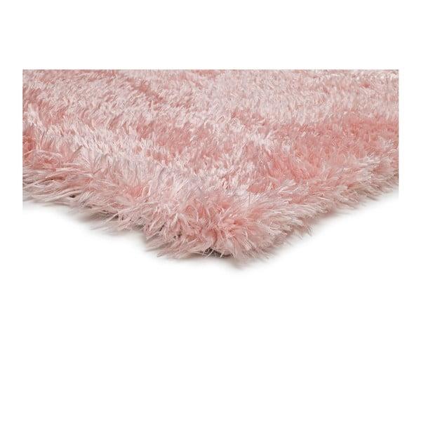 Růžový koberec vhodný i na ven Universal Aloe Liso, 80 x 150 cm