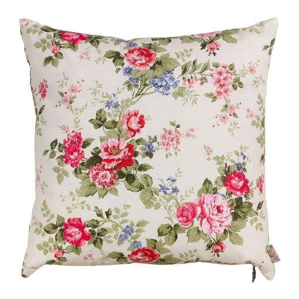 Poszewka na poduszkę Pink Flowers, 41x41 cm