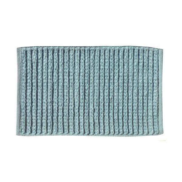 Koupelnová předložka Tricot Blue, 80x50 cm