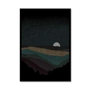 Plakát Moonrise od Florenta Bodart, 30x42 cm