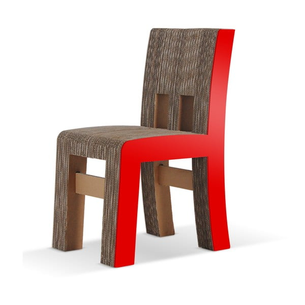 Kartonová židle Campagnola Red