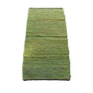Koberec Jute 65x135 cm, zelený