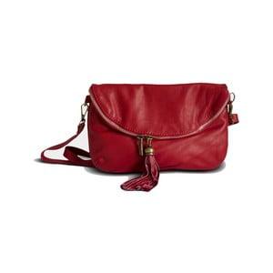 Červená kabelka z pravé kůže GIANRO' Soto