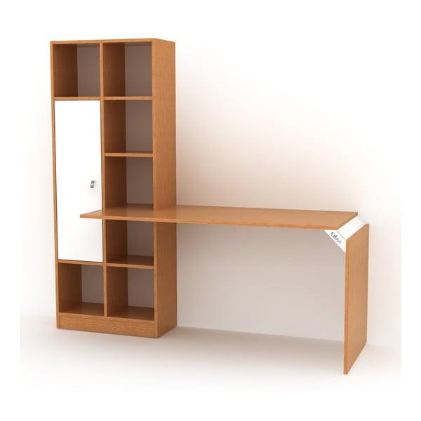 Set knihovny a pracovního stolu Rafevi Opus