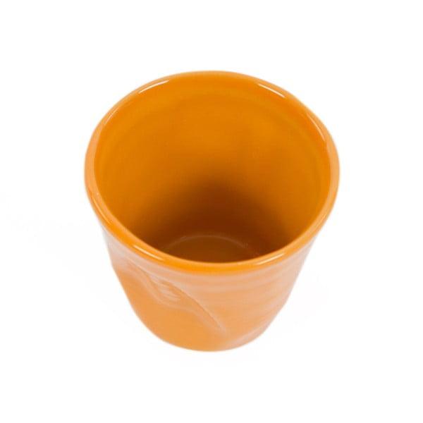 Sada 6 hrnků Kaleidos 200 ml, oranžová