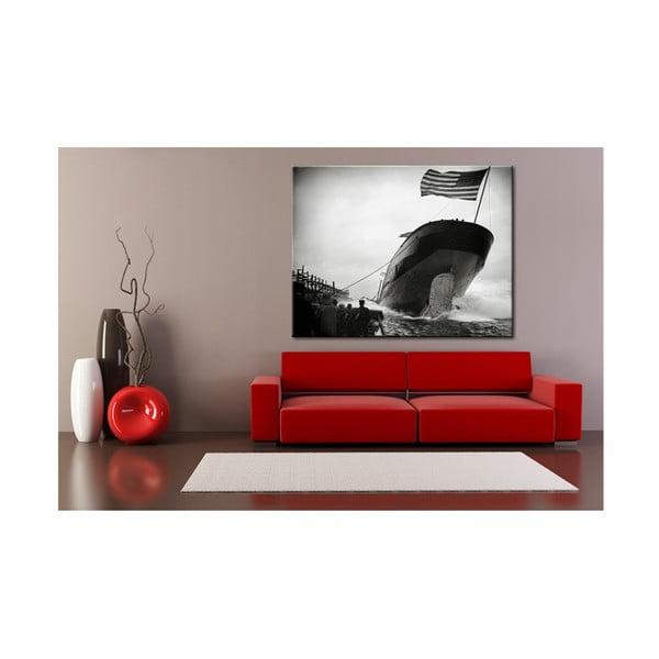 Fotoobraz Vyplutí lodi, USA, 90x70 cm