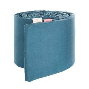 Tmavě modrá ochranná výstelka do dětské postýlky Done by Deer, délka350cm
