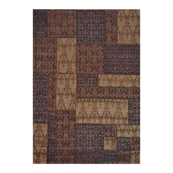 Koberec Patchwork 8 Brown, 62x124 cm