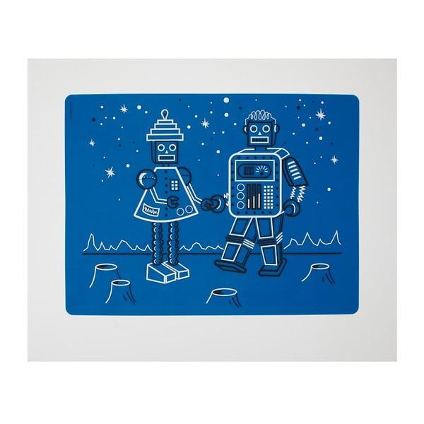 Prostírání Robot Love - Electric Blue