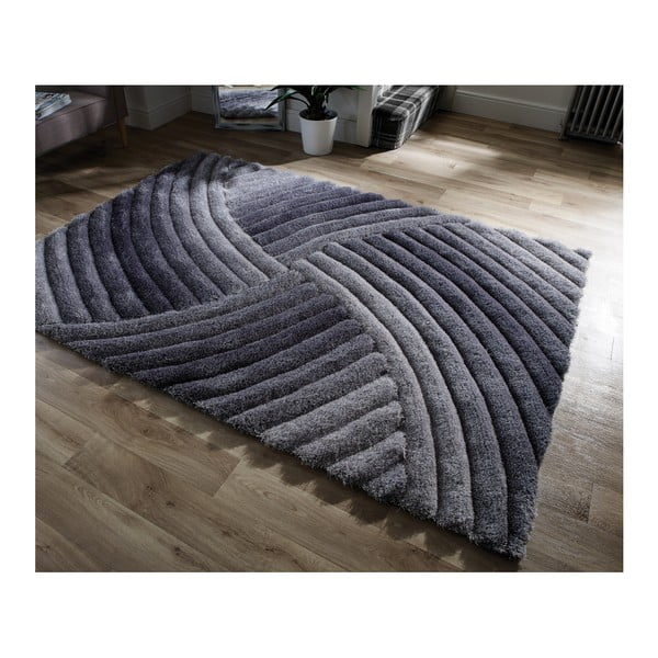 9f80deab87d69d Szary dywan Flair Rugs Furrow Grey, 120x170 cm