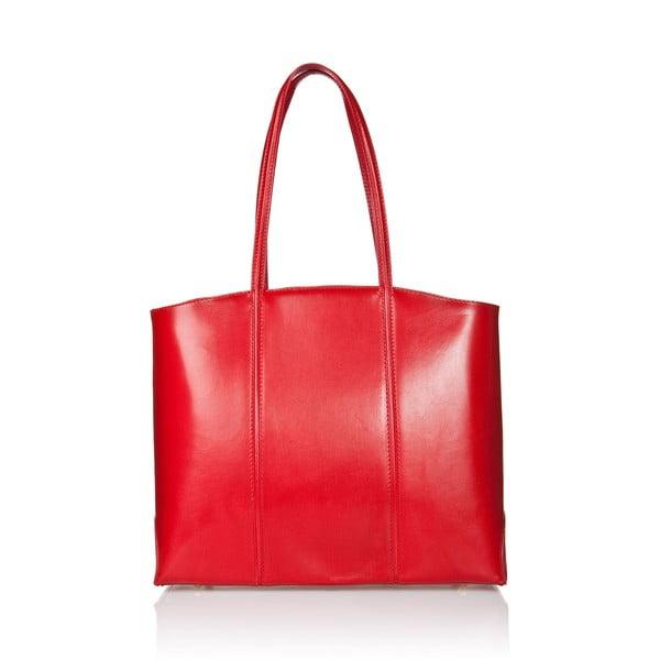 Kožená kabelka Markese 2393 Red