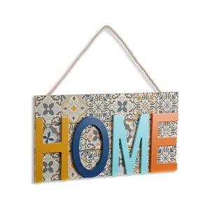 Závěsná dekorace ze dřeva VERSA Home Colorful, 38 x 20 cm
